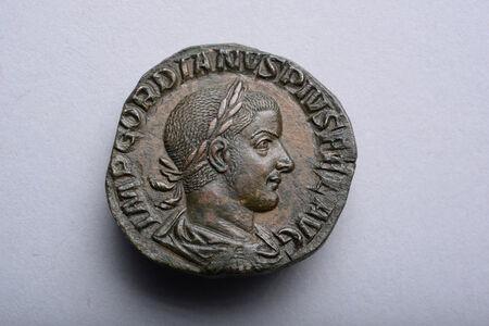 Sestertius of Emperor Gordian III