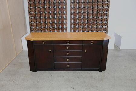 Cork Top Credenza by Paul Frankl
