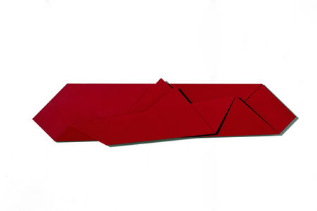 Large Red Folded Flat Red 01