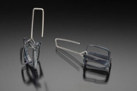 Wire Box Earrings