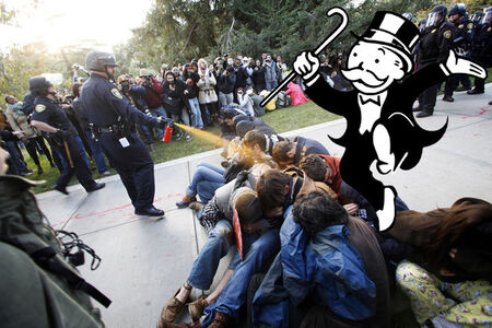 Plutocracy Loves Obedient Police (American Plutocracy series)