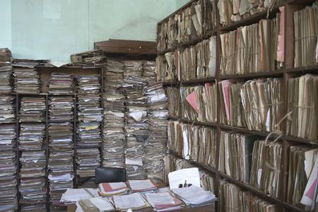 Court records, Lubumbashi, DR Congo, from Avenue Patrice Lumumba