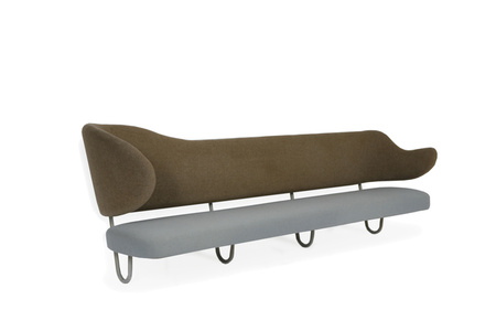 Wall mounted sofa