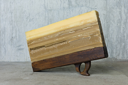 UNTITLED [beeswax and wood]