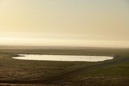 Morganza Spillway at Dawn
