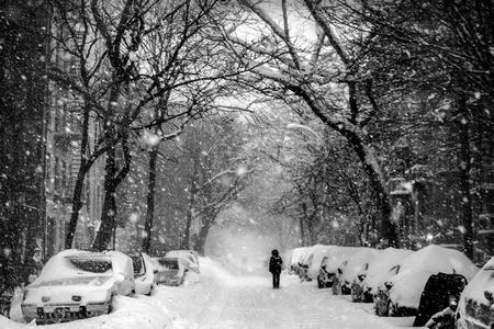 Snow on 6th Street