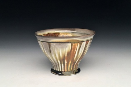 Amber Striped Bowl