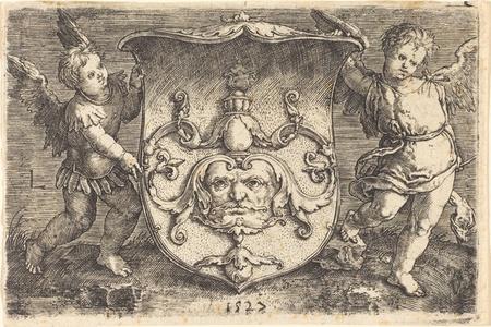 Shield with Mascaron