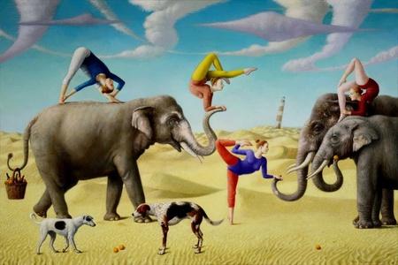 Scene of Pastoral Yoga
