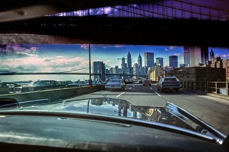 FDR Drive, Manhattan and Brooklyn Bridge