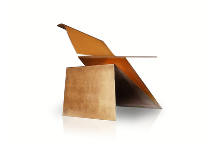Gold Origami Chair