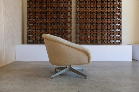 Swivel Lounge Chair by Ward Bennett