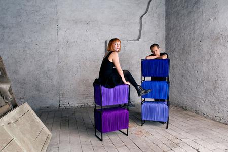 Fragmented Storage & Seating Modules