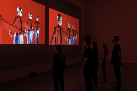 3-D Video-Installation – 1 2 3 4 5 6 7 8, Installation View Sprüth Magers Berlin