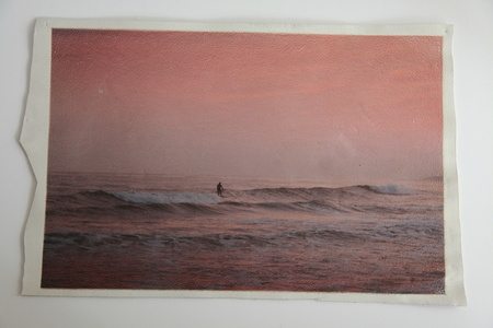 White Leather Series: Twilight surf at Ditch Plains
