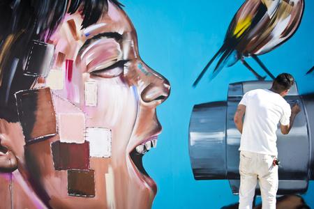 Joe Lee collab w Matt Gondek Child Screaming Secret Walls LA