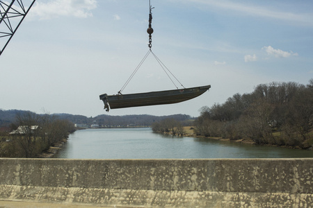 Floating Boat, Knoxville, Tennessee