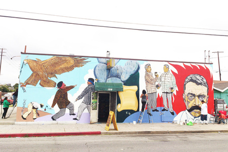 Maravilla Mural Restoration...