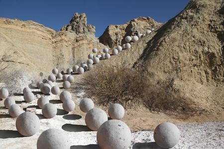 Piedras Blancas, from the film process