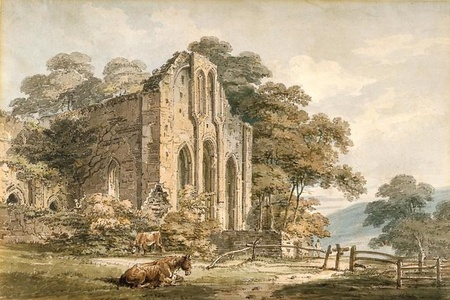 Valle Crucis Abbey, Denbighshire, North Wales