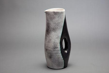 Ceramic color block pitcher
