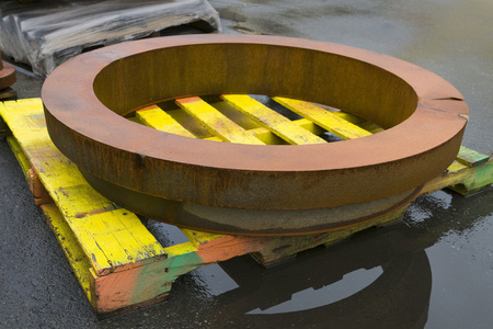 Industrial Landscapes: Iron Ring on Palette