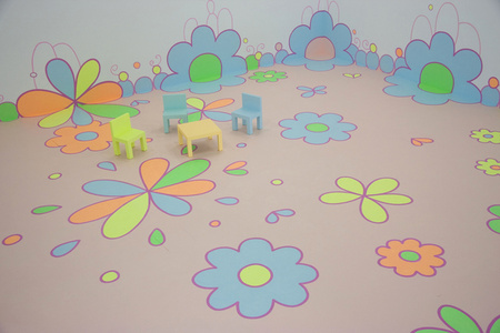 Flower Floor Painting