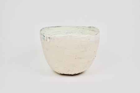 Tall Bowl w/Crack Glaze
