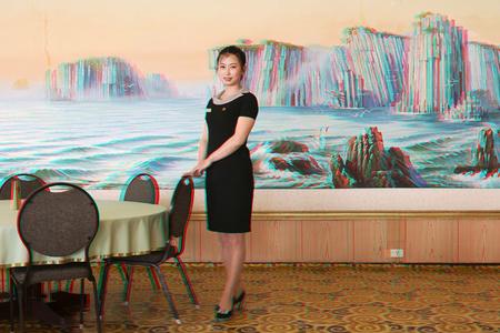#73. KIM UN HYANG, 24, Waitress, Dongmyong Hotel, Wonsan