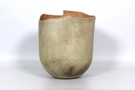 Richard DeVore Large White Vase