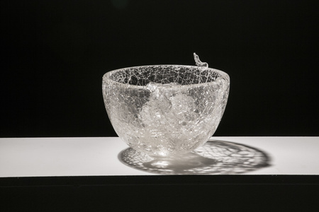 CATCHING GLASS FORMED BY WATER #5