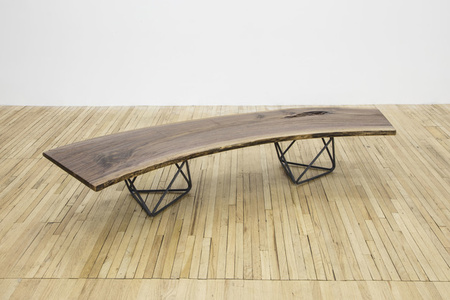 """Octahedron"" bench / coffee table"