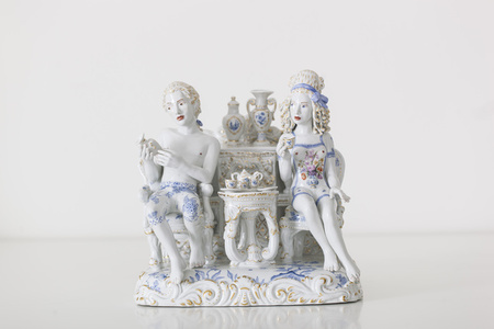 A Strong Passion [Courtesy MEISSEN COUTURE® Art Collection]
