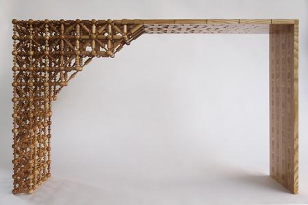 Gradient Mashrabiya Sideboard