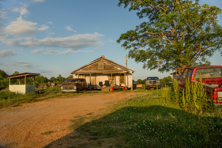 Office Chairs, Trucks & Golden Light, Perry County, AL