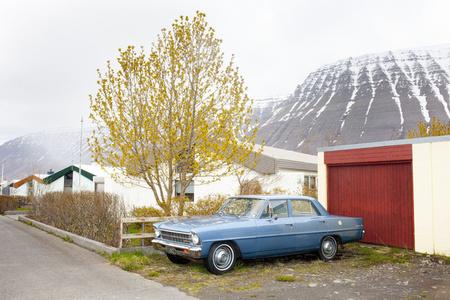 Blue Car, Ísafjörður