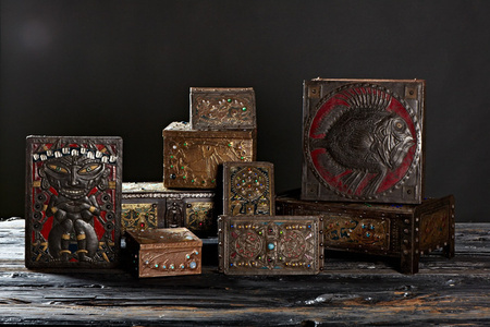 Group Shot of Alfred Daguet Boxes