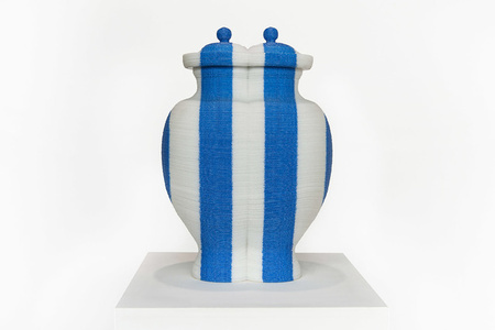 back to the future / redwhiteblue vase 4