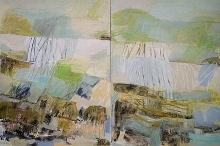 Late Summer (Diptych)