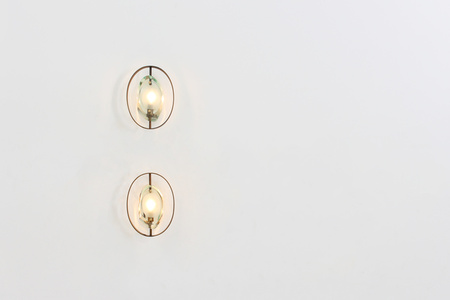 Pair of wall sconces by Max Ingrand for FontanaArte, MODEL 2240