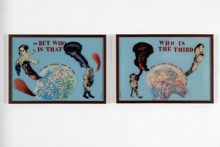 WHO IS THE THIRD (After the Wasteland by T.S. Eliot 1 & 2