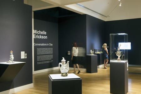 Michelle Erickson: Conversations in Clay