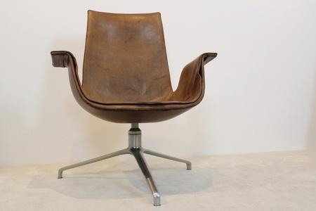 Original Fabricius & Kastholm Kill FK 6727 Tulip Swivel Chair, Denmark 1960s