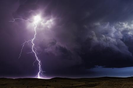Lightning Storm. Hyannis, Nebraska