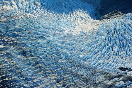 Icefall, Mendhenhall Glacier, Alaska, 2010