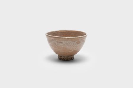 Old white porcelain tea bowl