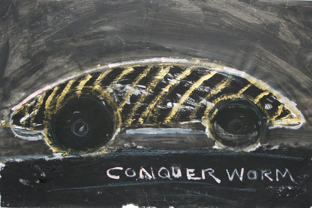 Untitled (Conquer Worm)