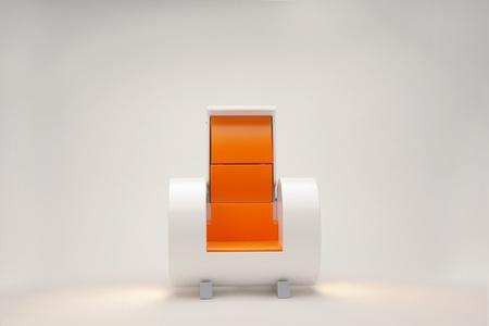 Cloche harm chair White model