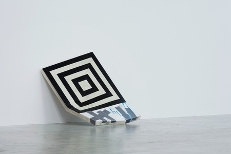 Untitled Painting (Square Geometry and Duct Tape)