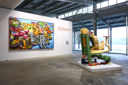 Relax in Electric Chair: Peter Saul at di Rosa